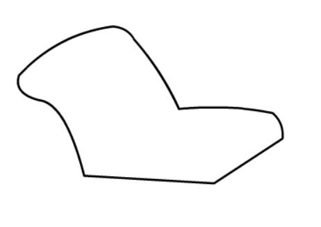 靠背沙发简笔画绘画步骤一