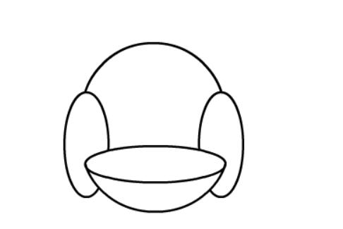 懒人沙发简笔画动画教程演示: