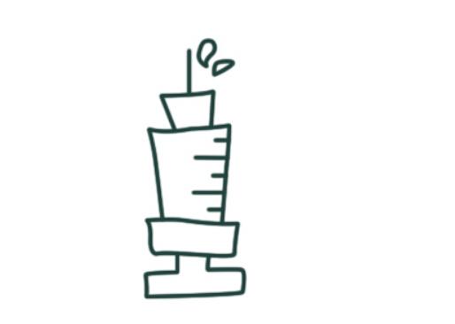 儿童简笔画教程之针管注射器(7)