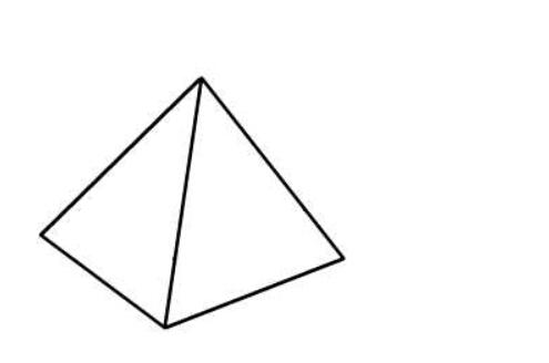 简笔画金字塔,儿童画金字塔