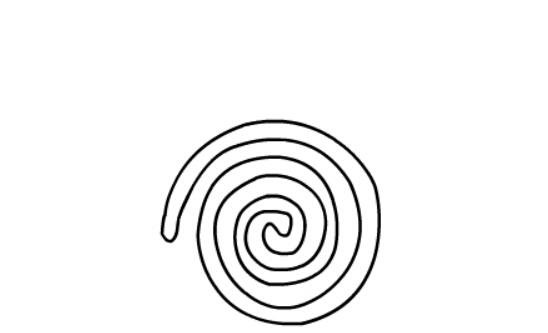 简笔画蚊香的画法,儿童简笔画教程之蚊香