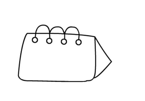 简笔画教程之台历(4)