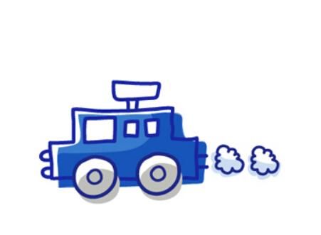 儿童简笔画小汽车 关于小汽车的简笔画大全高清图片