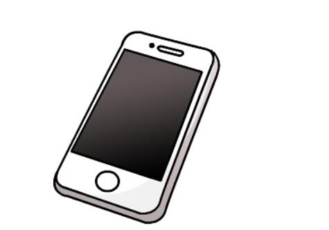 通讯工具简笔画大全_如何学画智能手机的简笔画画法