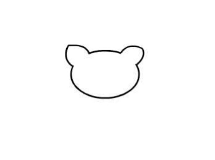 卡通小猫咪简笔画_儿童卡通动物简笔画教程