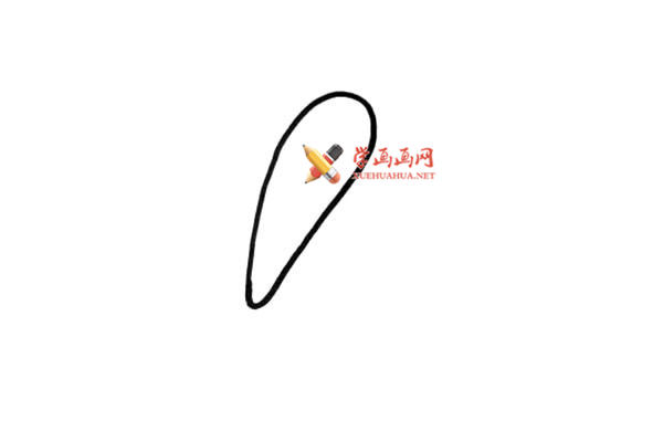 儿童简笔画:卡通火鸡的简笔画教程(1)