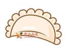 美味的饺子的简笔画画法教程