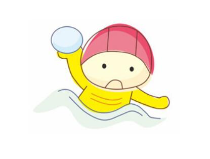 儿童游泳简笔画【动画步骤】