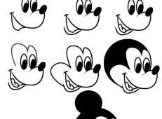 米老鼠的画法步骤