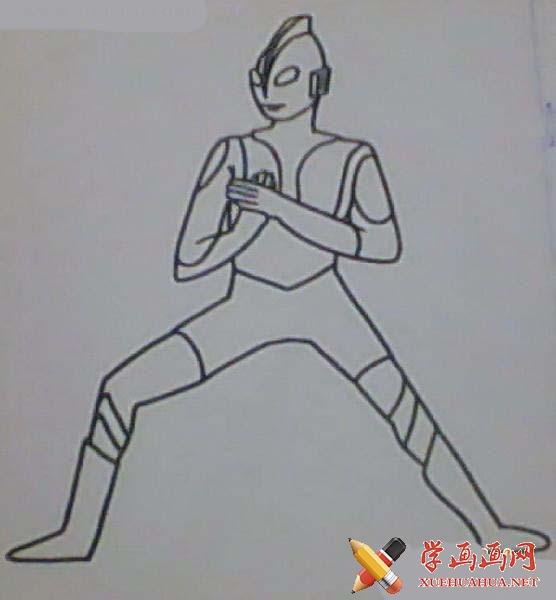 奥特曼简笔画(5)