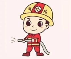 简笔画《消防员叔叔》的画法