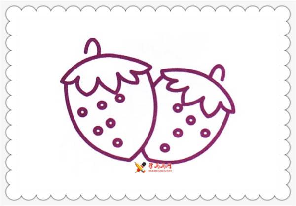 6幅草莓简笔画图片(1)
