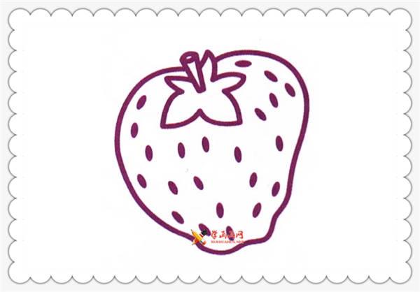 6幅草莓简笔画图片(5)