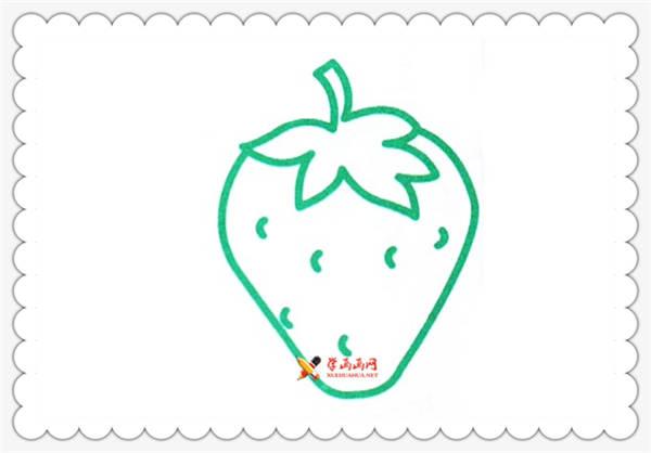 6幅草莓简笔画图片(6)