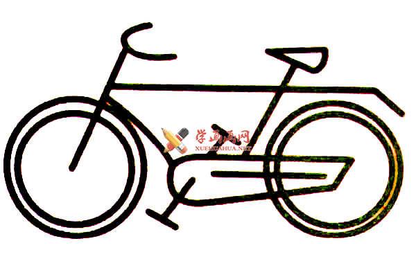 简笔画自行车图片(1)