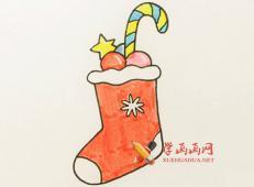 圣诞节题材的简笔画素材