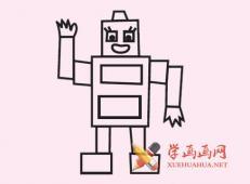 儿童玩具简笔画:木偶简笔画画法素材