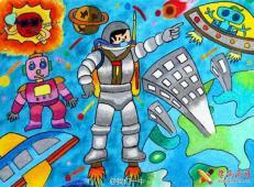 68幅儿童科幻画图片大全欣赏【图集】