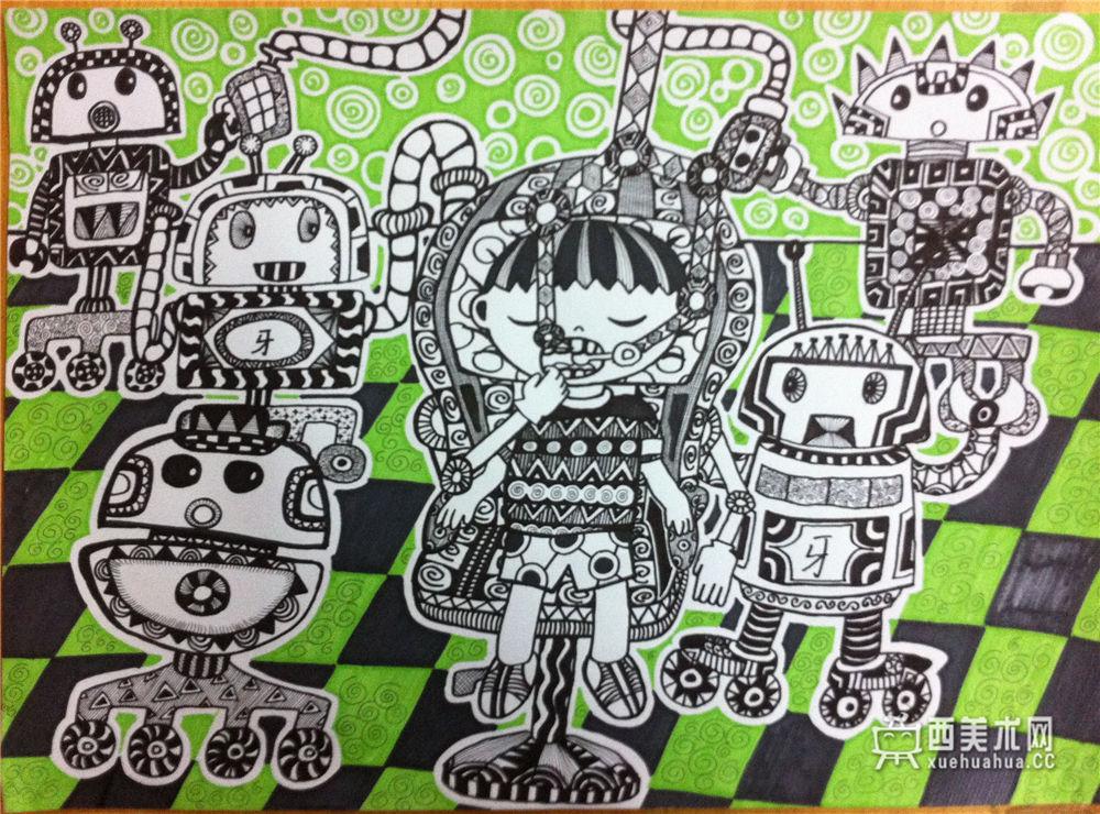 小学生科幻画
