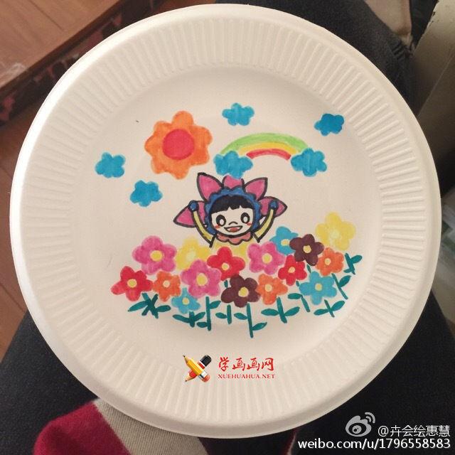 画在盘子里的春天(2)