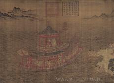 顾恺之《洛神赋图》高清图片在线赏析_中国十大传世名画
