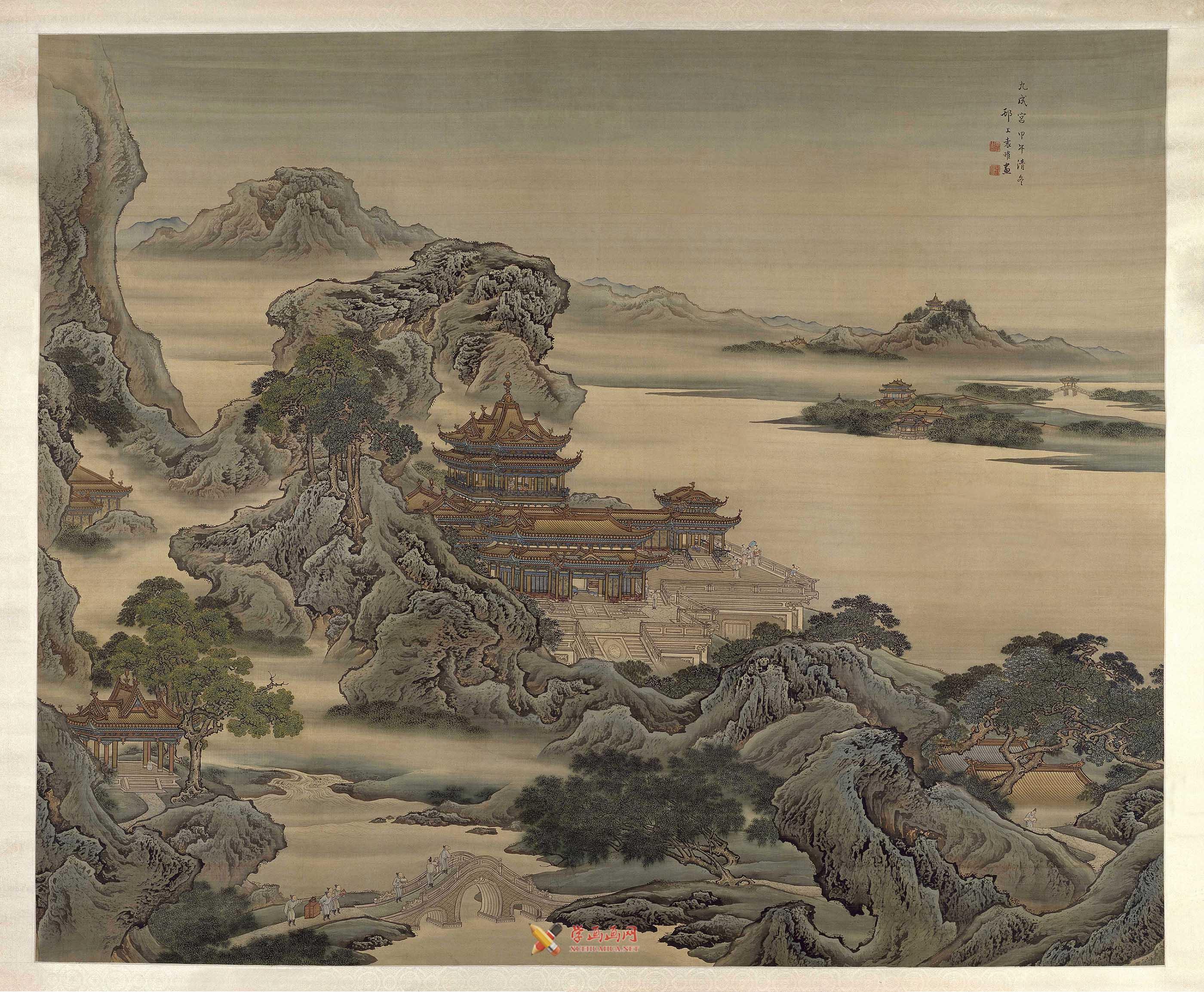 袁耀《九成宫图》赏析(1)