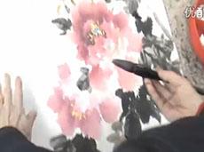 视频教程:国画牡丹的画法