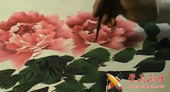 郑兰迎国画写意牡丹视频教程(1)