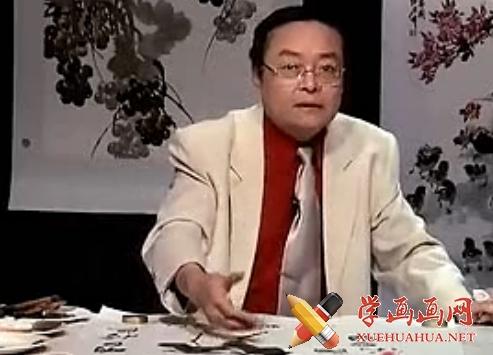 国画入门_国画基础知识下_跟徐湛学画画64全集完(1)