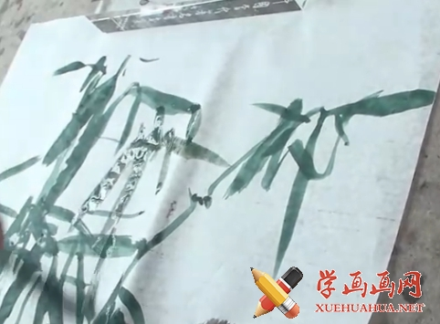 国画竹子的画法(1)