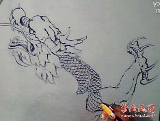 中国画龙(1)