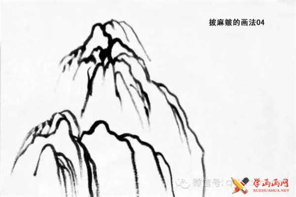 国画山石的画法(18)