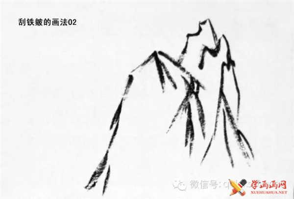 国画山石的画法(21)