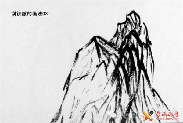 国画山石的画法(22)