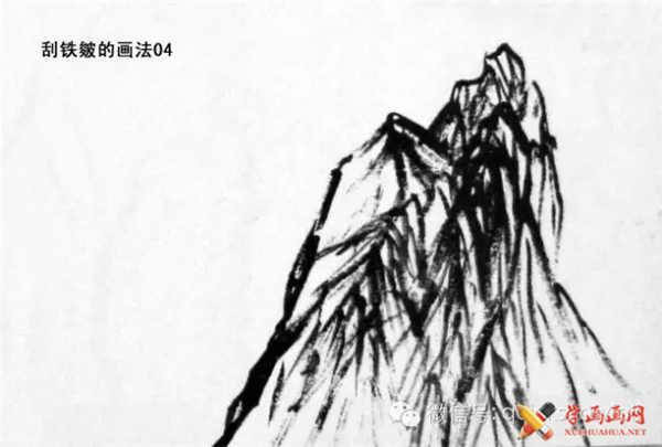 国画山石的画法(23)