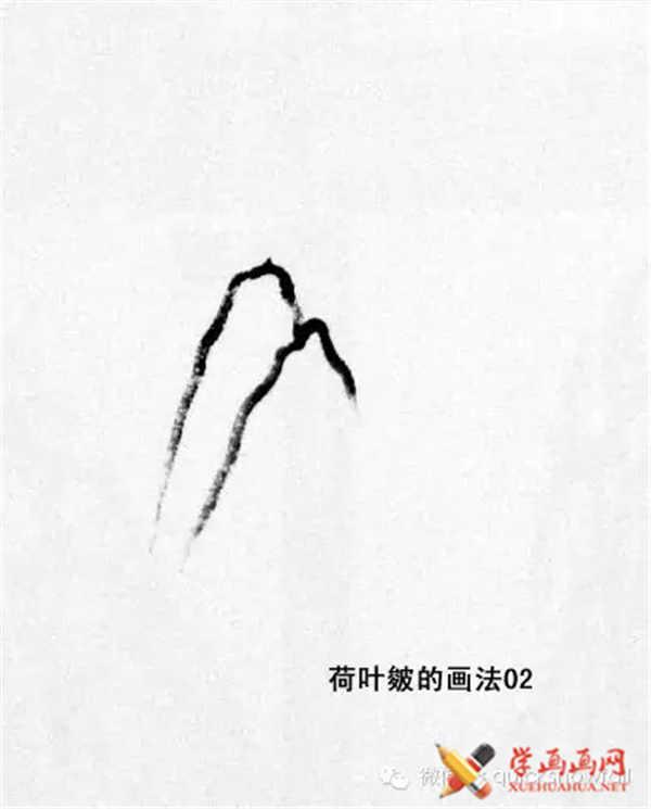 国画山石的画法(26)