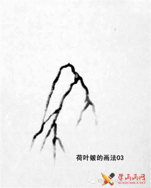国画山石的画法(27)
