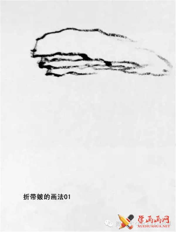 国画山石的画法(43)