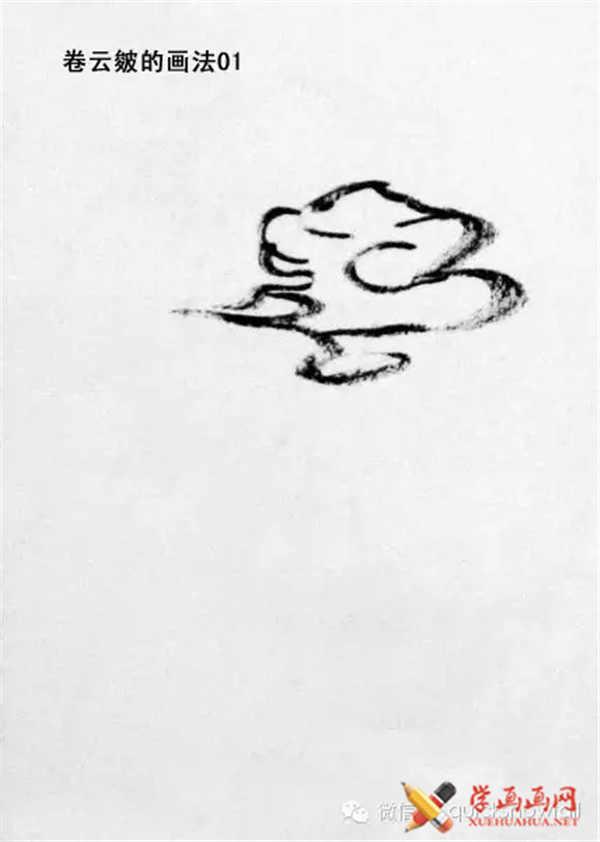 国画山石的画法(48)