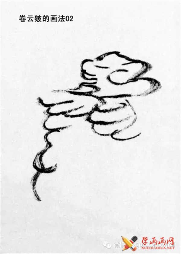 国画山石的画法(49)