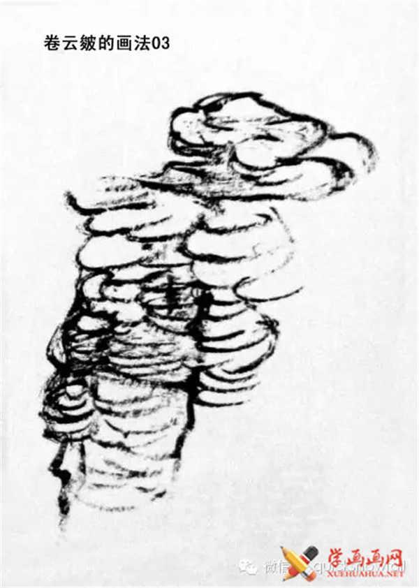 国画山石的画法(50)
