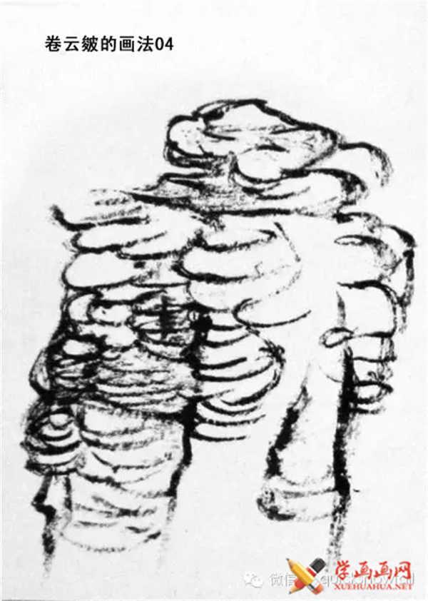 国画山石的画法(51)