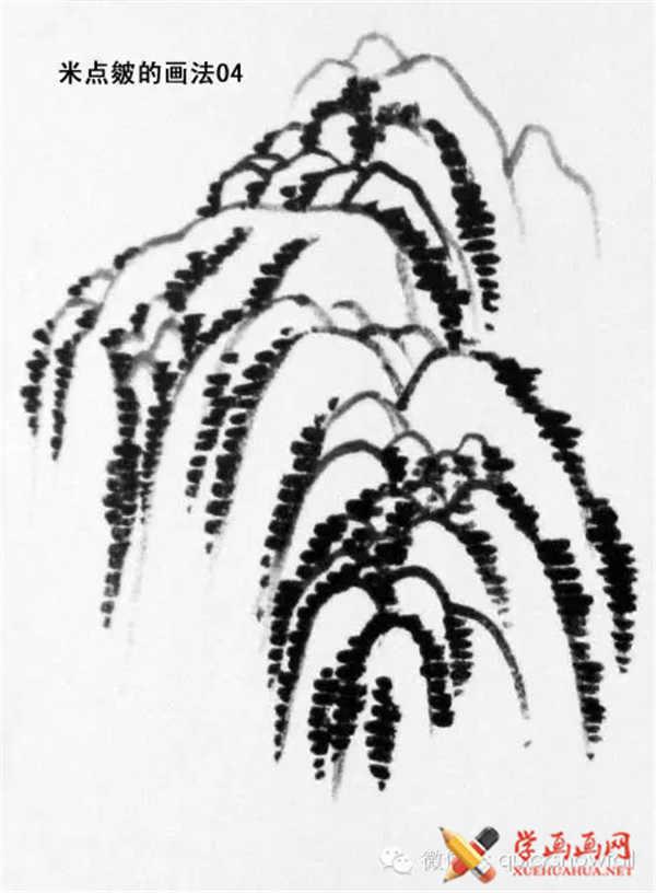 国画山石的画法(56)