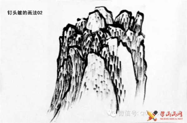 国画山石的画法(59)