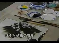 中国画泼墨泼彩视频教程