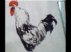 中国画教程_鸡的画法