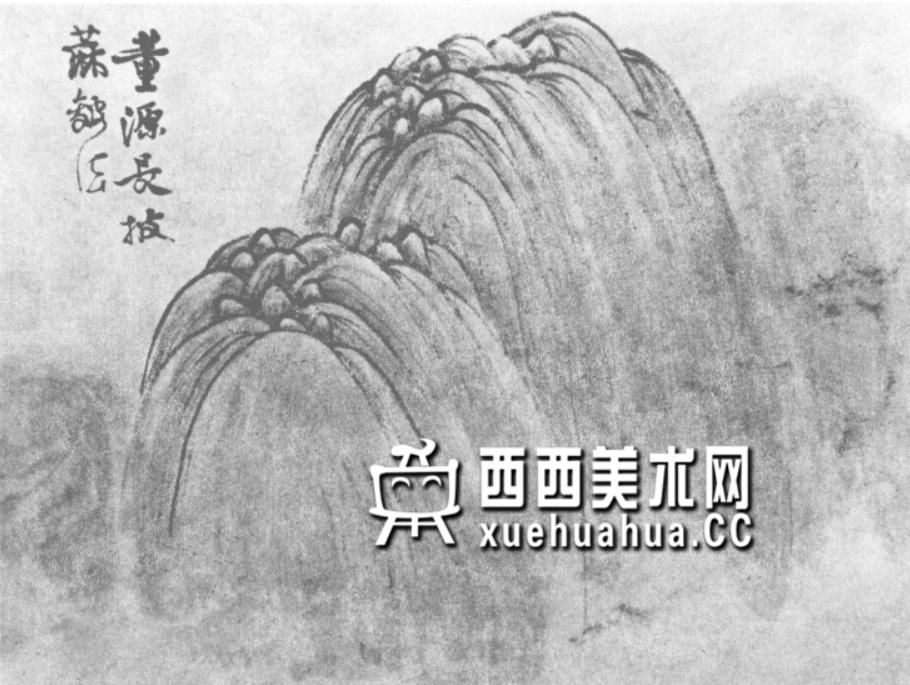 国画山石皴法详解(多图预警)(24)