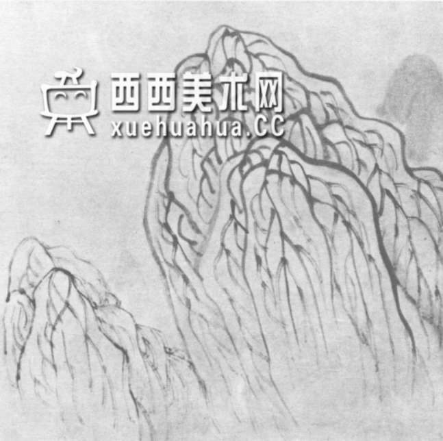 国画山石皴法详解(多图预警)(61)