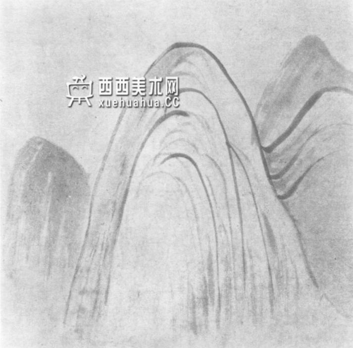 国画山石皴法详解(多图预警)(66)