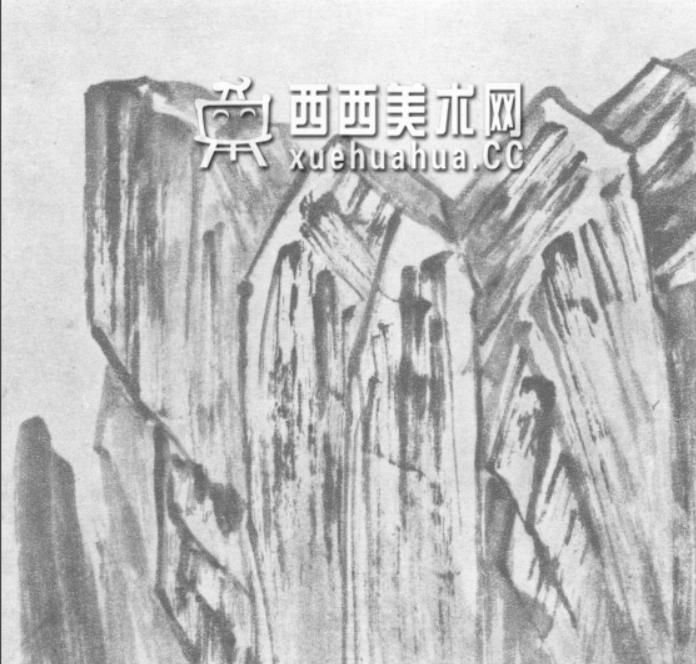 国画山石皴法详解(多图预警)(57)